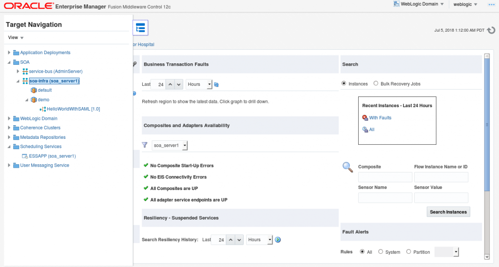Oracle SOA Suite 12c: points to consider during migration