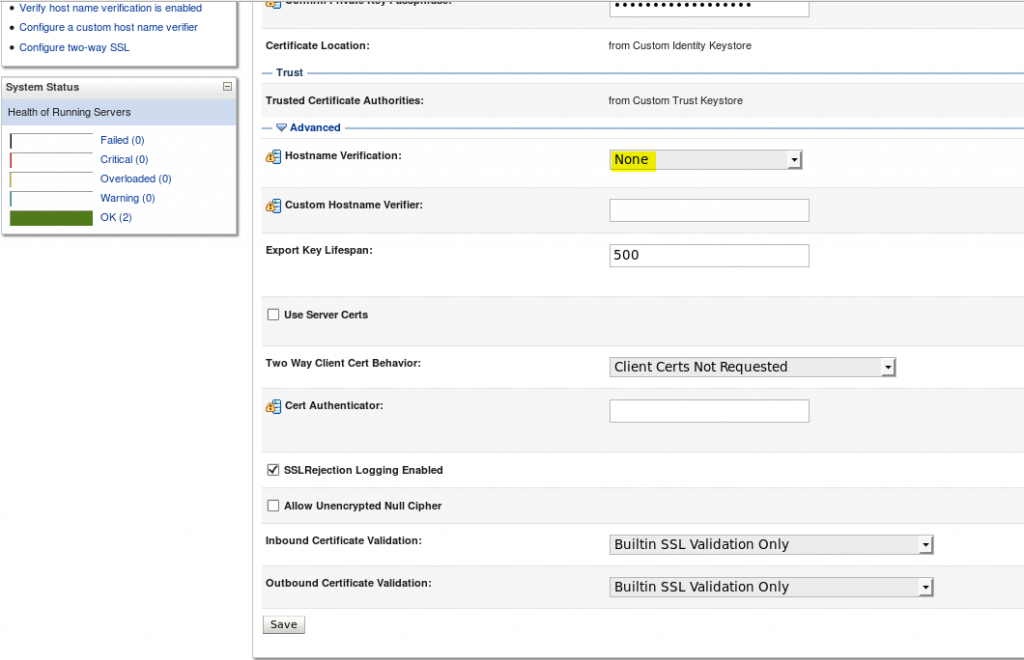 How to configure SAML in Oracle Service Bus (OSB) 12c